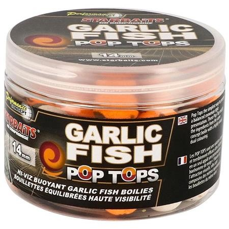 BOUILLETTE FLOTTANTE STARBAITS GARLIC FISH POP TOP