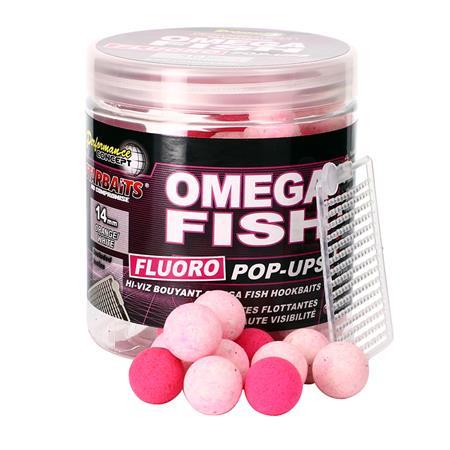 BOUILLETTE FLOTTANTE STARBAITS PERFORMANCE CONCEPT OMEGA FISH FLUO POP UP