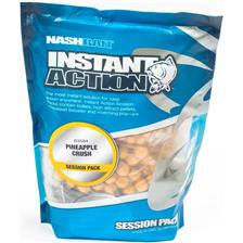 Baits & Additives Nashbait INSTANT ACTION BOTTOM BAITS 5KG PINEAPPLE CRUSH O15MM 5KG