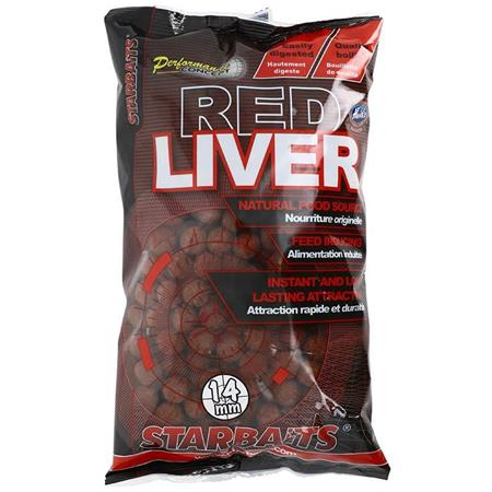 BOUILLETTE STARBAITS PC RED LIVER