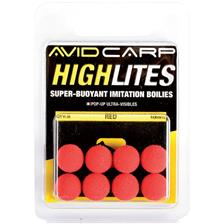 Tying Avid Carp HIGH LITES 10MM ROUGE