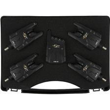 BOX 4 BITE ALARMS + RECEIVER CARP SPIRIT CLASSIC CSC 3 + CSC R