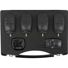 BOX BITE ALARMS + RECEIVER CARP SPIRIT HD5 + HDR5