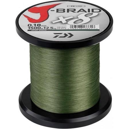 BRAID DAIWA J BRAID X 8 GREEN - 1500M