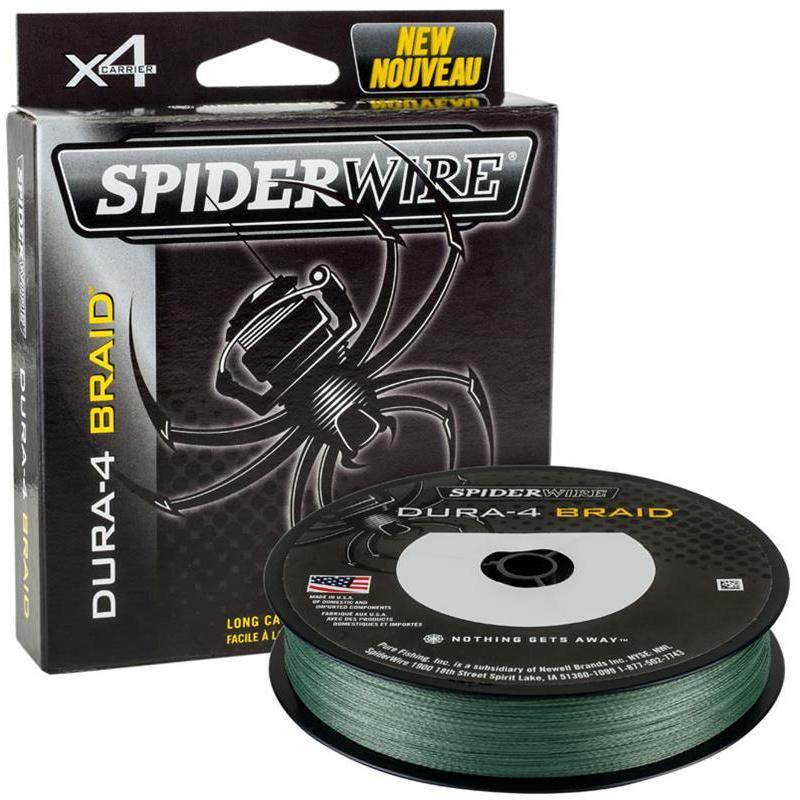 BRAID SPIDERWIRE DURA 4 GREEN - 150M - 17/100