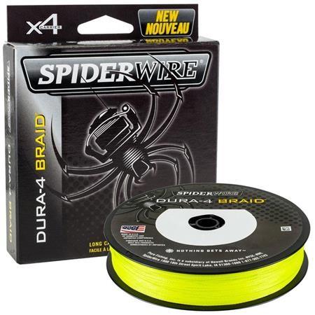 BRAID SPIDERWIRE DURA 4 YELLOW - 150M