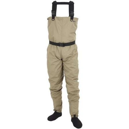 BREATHABLE WADERS STOCKING HYDROX FIRST - CLEAR OLIVE