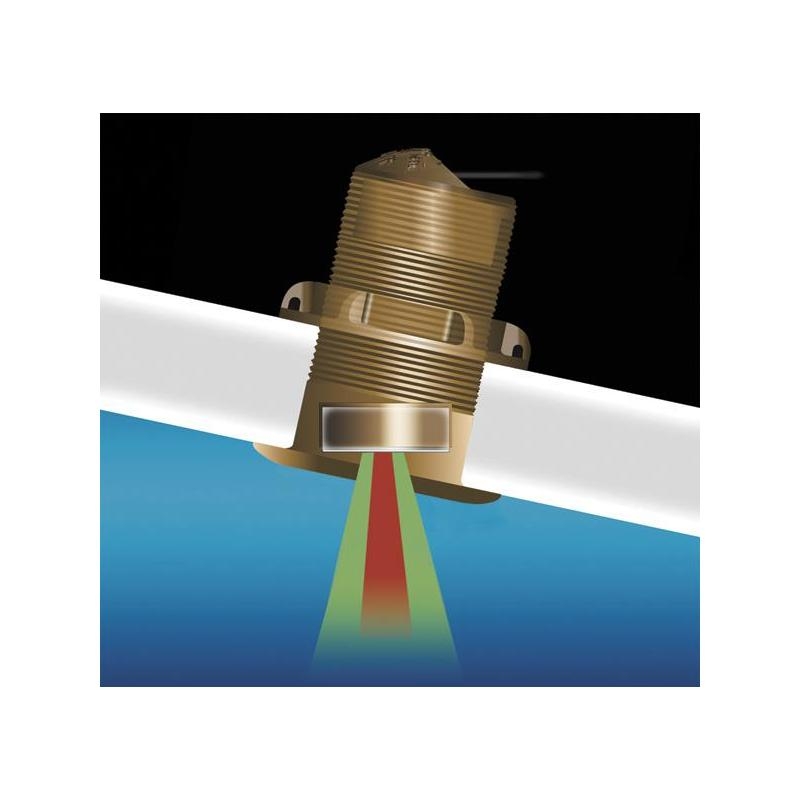 BRONZE THRU-HULL TRANSDUCER AIRMAR B150M