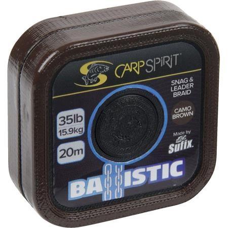 CABEZA DE SEDAL CARP SPIRIT BALLISTIC CAMO BROWN - 20M