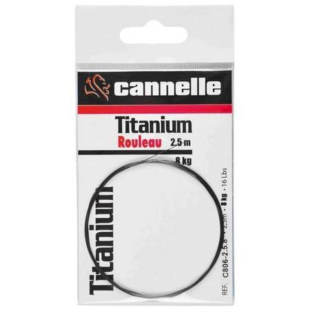 CABLE CANNELLE TITANIUM C806