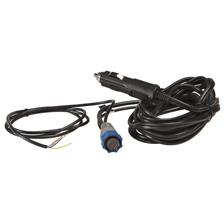 CABLE D'ALIMENTATION ALLUME CIGARE 12V LOWRANCE PRISES BLEUES