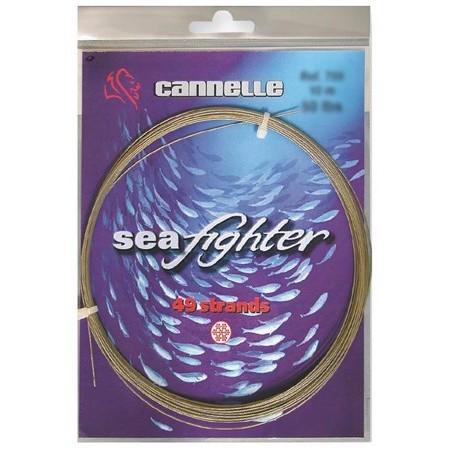 CABLE GAINE NYLON CANNELLE SEAFIGHTER 49 STRANDS 10M