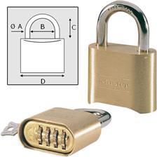 CADENAS MASTER LOCK A COMBINAISON - 63615