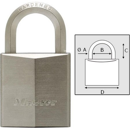 CADENAS MASTER LOCK HAUTE PROTECTION