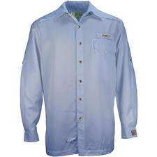CAMISA HOMBRE HOOK AND TACKLE PROTECTION INSECT SHIELD AZUL