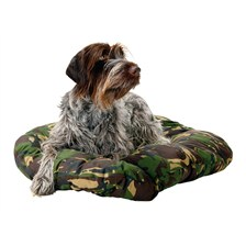 CAMOUFLAGE COLLECTION COTTON WOOL DOG CUSHIONS COLLECTION CAMOUFLAGE