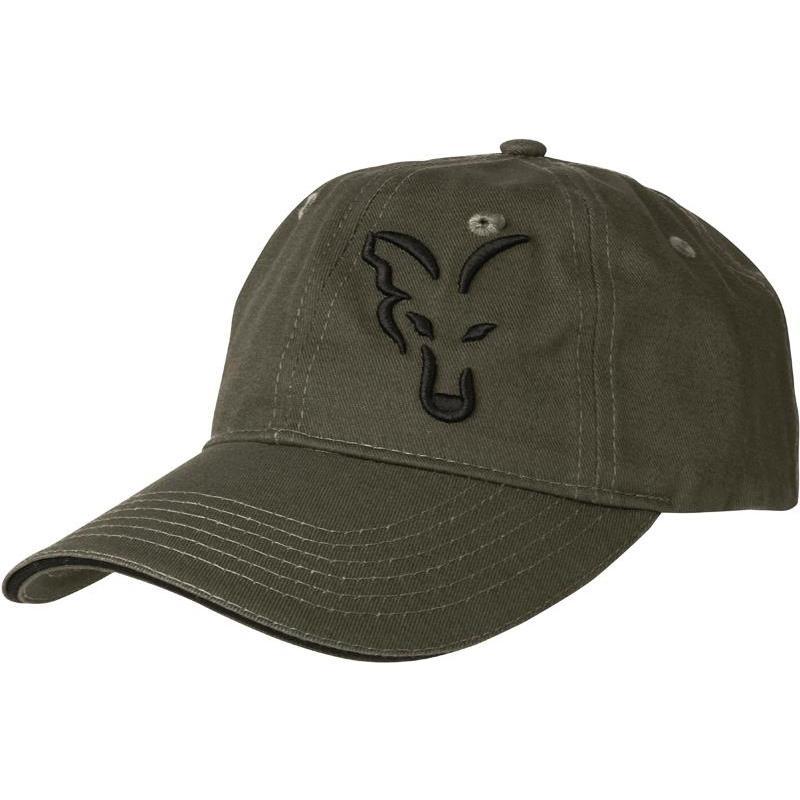 Cap fox green   black baseball cap 3b0577f2796
