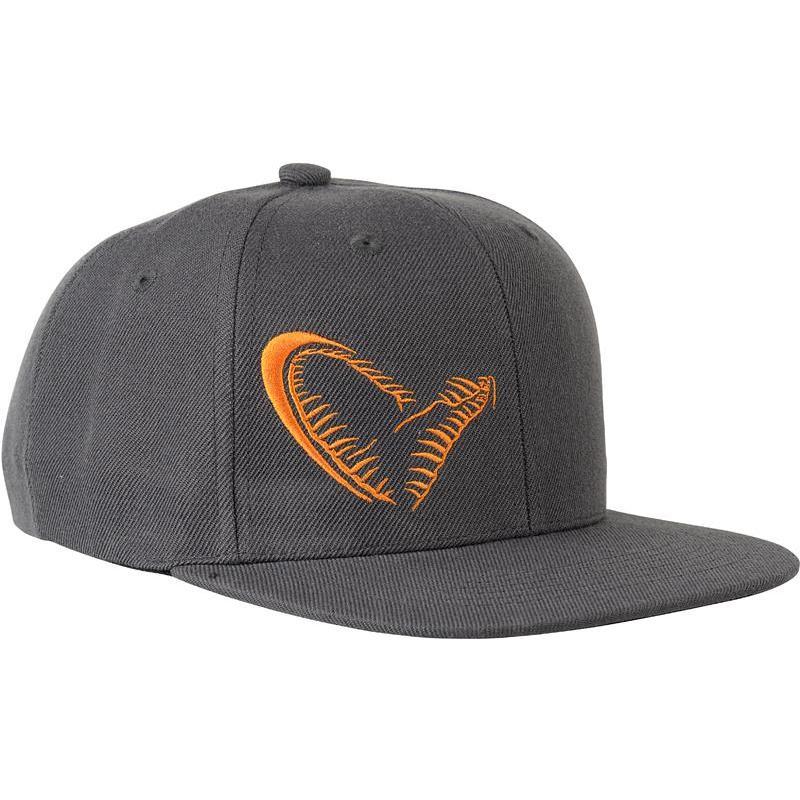 Cap savage gear flat bill snap back cap - black 5fd823af73