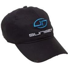 CAP SUNSET SUNCAP SPORT BLACK