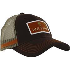 CAP WESTIN HILLBILLY TRUCKER CAP BROWN