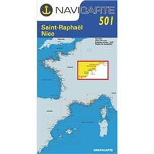 CARTA DI NAVIGAZIONE NAVICARTE ST RAPHAEL - NICE - ILES DE LERINS