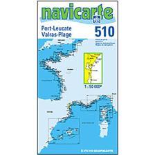 CARTE DE NAVIGATION NAVICARTE PORT LEUCATE - GRUISSAN - VALRAS