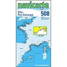 CARTE DE NAVIGATION NAVICARTE SETE - PORT CAMARGUE