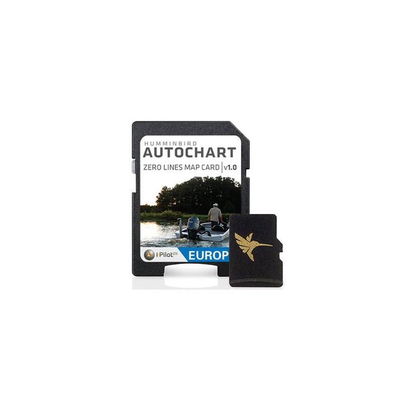 Carte Europe Humminbird Zero Line Pour Logiciel Autochart.Carte Europe Humminbird Zero Line Pour Logiciel Autochart