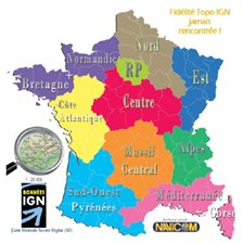 CARTE TOPOGRAPHIQUE FRANCE MAGELLAN IGN