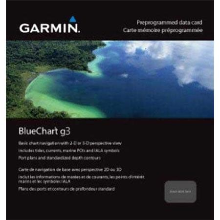 CARTOGRAPHIE GARMIN BLUECHART G3 REGULAR