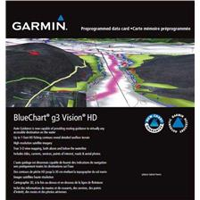 CARTOGRAPHIE GARMIN BLUECHART G3 VISION REGULAR