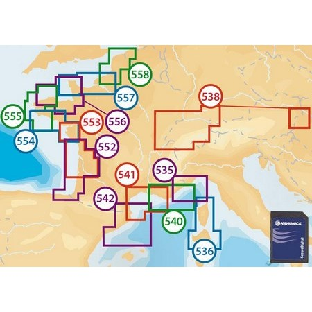 CARTOGRAPHIE NAVIONICS GOLD SMALL2 FRANCE FORMAT MICRO SD