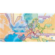 CARTOGRAPHIE NAVIONICS + XL9 EUROPE - FORMAT SD