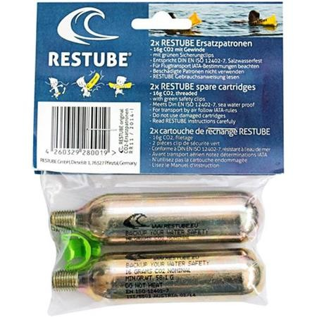 CARTOUCHE RESTUBE RECHARGE CO2