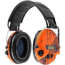 CASQUE AMPLIFICATEUR MSA SUPREME PRO-X - ORANGE
