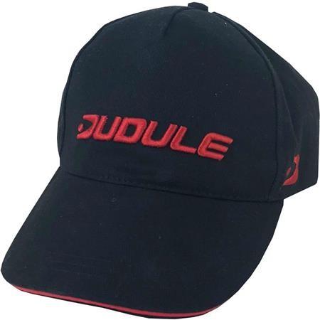 CASQUETTE DUDULE - NOIR/ROUGE