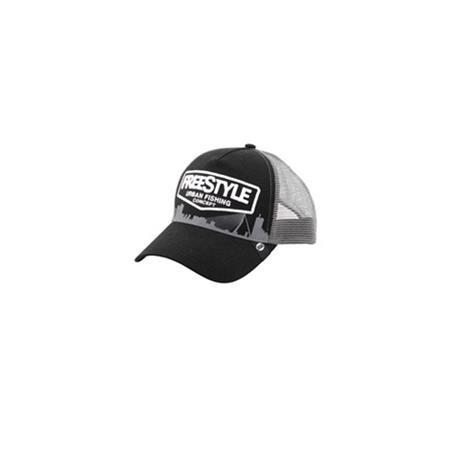 CASQUETTE FREESTYLE TRUCKER CAP BLACK - NOIR
