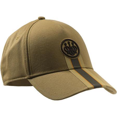 CASQUETTE HOMME BERETTA CORPORATE STRIPED CAP - TAN