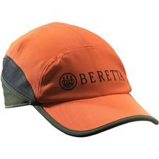 CASQUETTE HOMME BERETTA WP PRO CAP - ORANGE/VERT