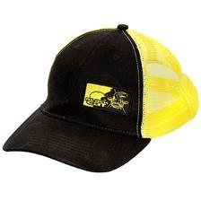 CASQUETTE HOMME BLACK CAT TRUCKER CAP - NOIR/JAUNE