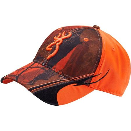 CASQUETTE HOMME BROWNING CENTERFIRE - CAMOU ORANGE