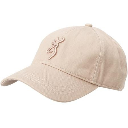CASQUETTE HOMME BROWNING COTTON BROWN - BRUN
