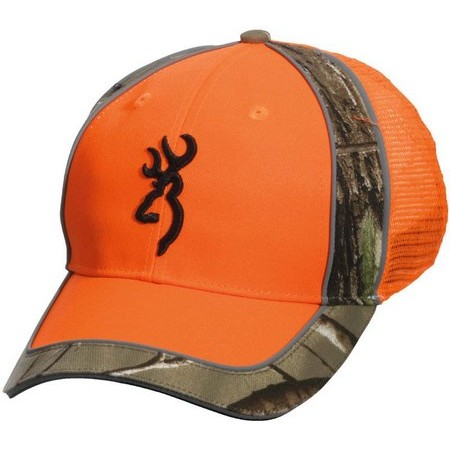 CASQUETTE HOMME BROWNING POLSON MESHBACK ORANGE