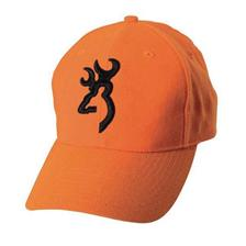 CASQUETTE HOMME BROWNING SAFETY 3D - ORANGE