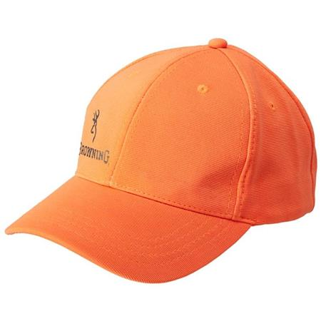 CASQUETTE HOMME BROWNING VISIBILITY - ORANGE