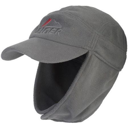 CASQUETTE HOMME EIGER FLEECE EAR CAP - GRIS