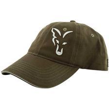 CASQUETTE HOMME FOX GREEN & SILVER BASEBALL CAP - VERT