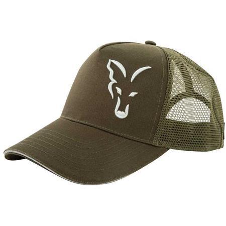CASQUETTE HOMME FOX GREEN & SILVER TRUCKER CAP - VERT