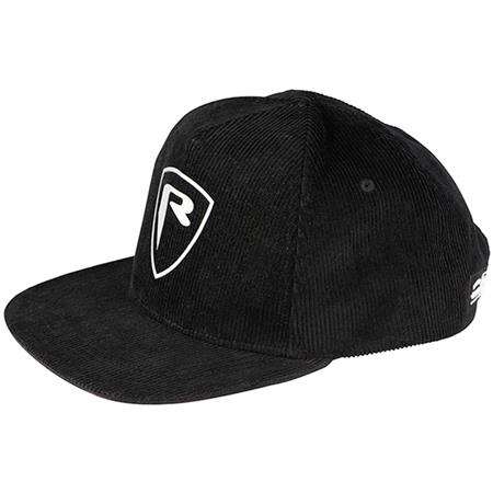 CASQUETTE HOMME FOX RAGE GREY CORD FLAT PEAK CAP - NOIR