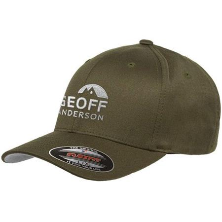 CASQUETTE HOMME GEOFF ANDERSON FLEXFIT - OLIVE